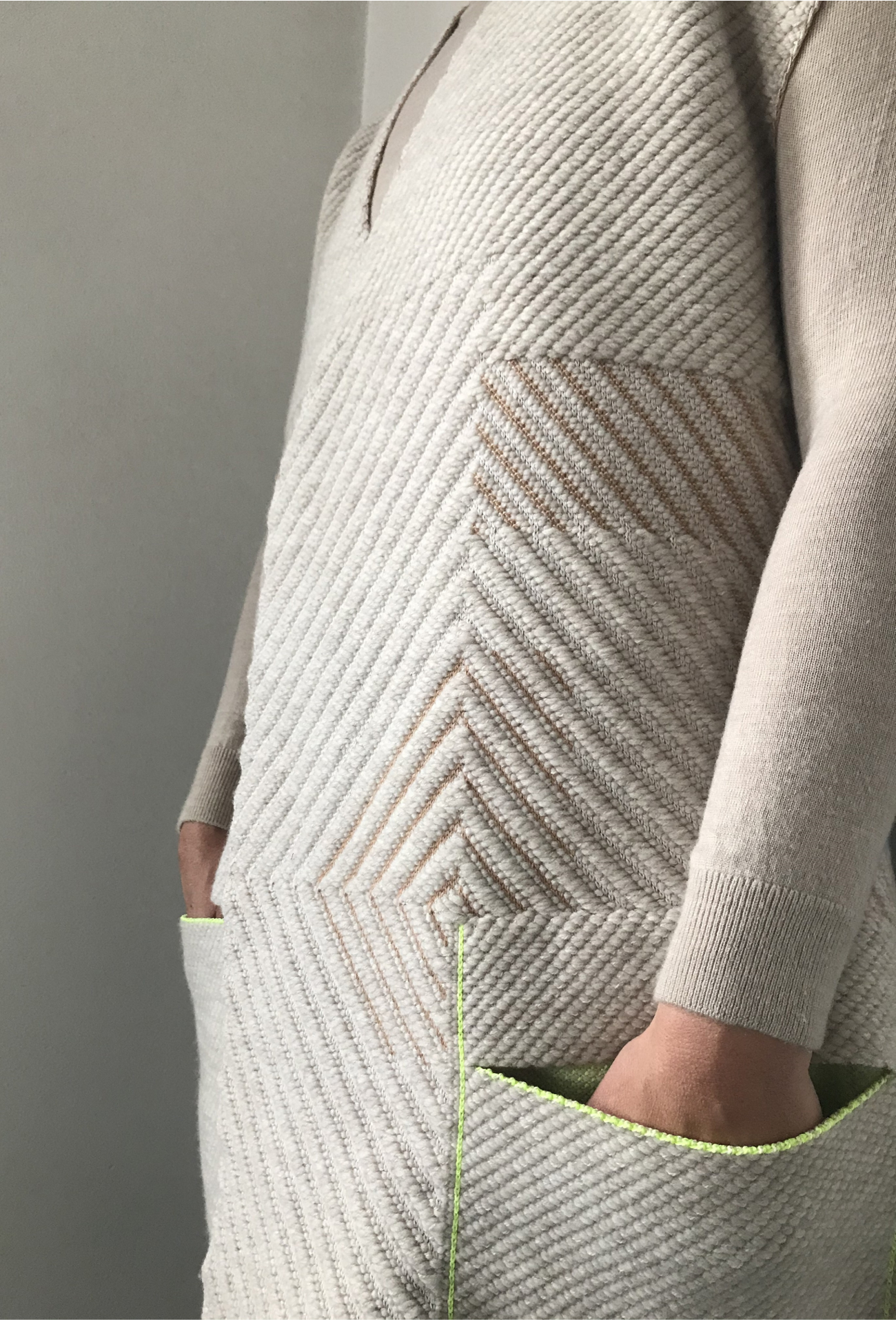 Module 10: Basic cardigan trims and pockets
